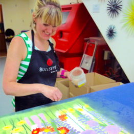 Making the fused glass