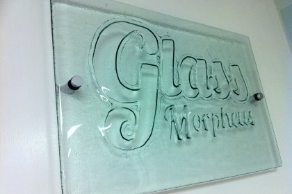 Morpheus Glass Sign