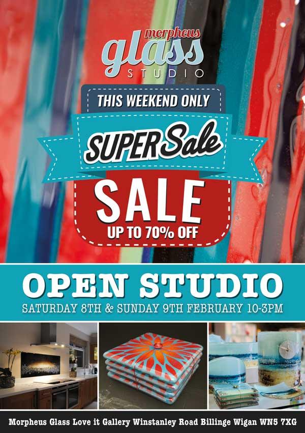 Morpheus Glass Open Studio Sale